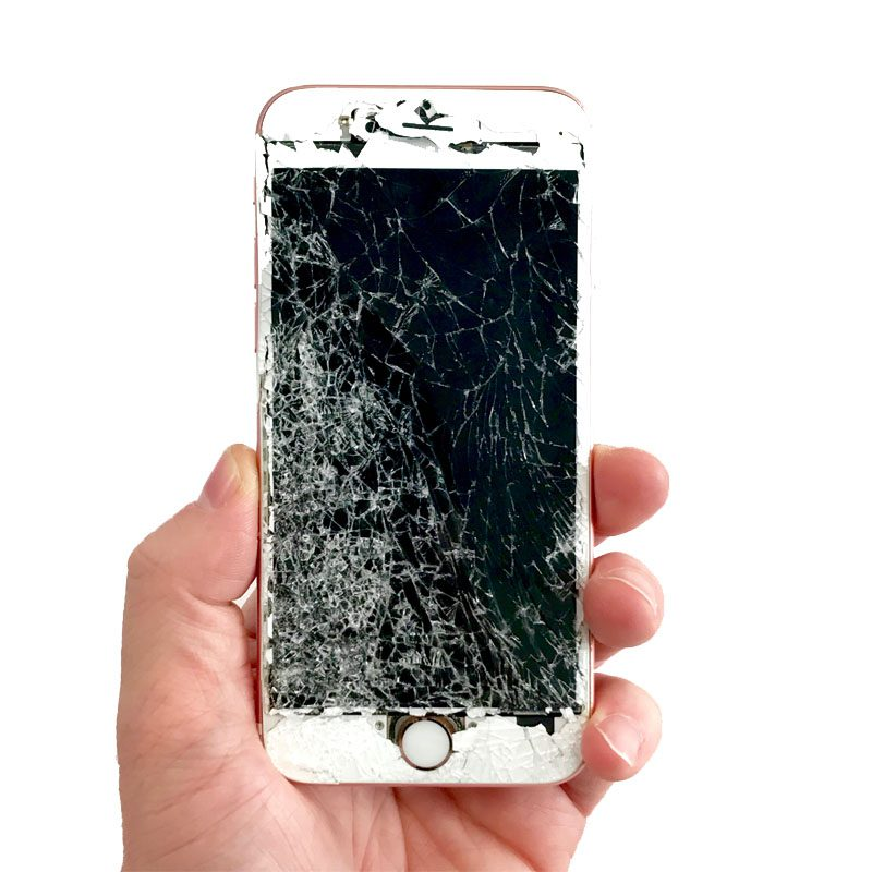 Iphone S Cracked Screen Ebay